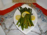 Asparagus with Citrus-Butter