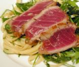 Seared Tuna with Cilantro-Lime Relish