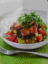 Bulgar Wheat Salad With Halloumi (524)