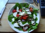 Spinach, Tomato and Mozarella Salad (CPS 268)