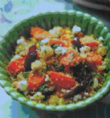 Moroccan couscous and honey-roasted veg salad (CPS 367)