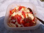 My DH Yummy Salsa - that he makes for me!
