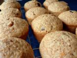 Banana, Fig, & Flaxseed Muffins