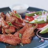 Mexican Spiced Steak and Cheese Sauce
