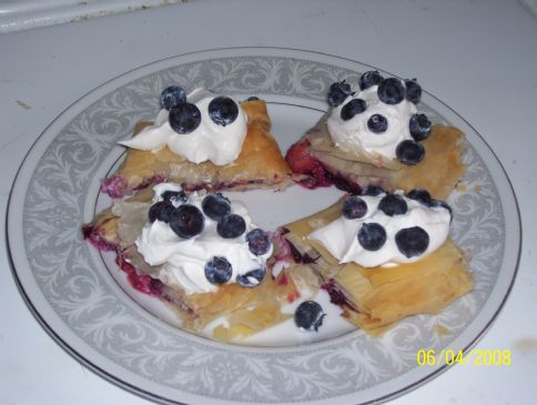 Berry Cheese Danish