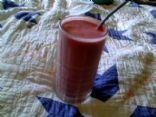 Lowfat Protein Cottage Cheese Yogurt Berry Smoothie
