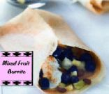Grab & Go Fruit Burrito