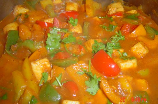 Panir with Peppers