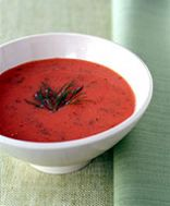 Cool & Creamy Tomato-Dill Soup