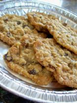 Grandma's Oatmeal - Raisin Cookies