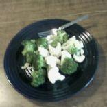 Herbed Broccoli & Cauliflower