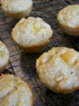 Peach - Oat Almond Muffins