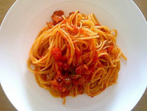 spaghetti home made