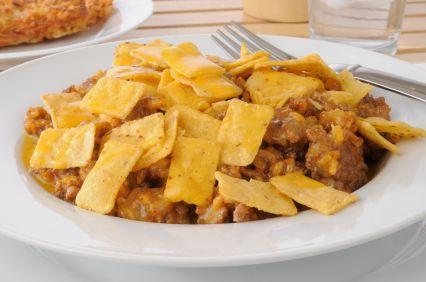 Crunchy Taco Casserole