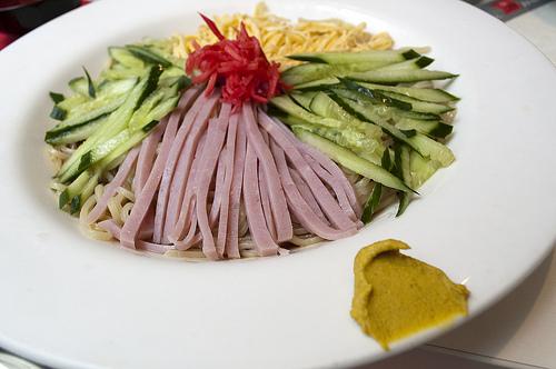 Hiyashi Chuka - Japanese Cold Noodles