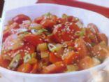 Sesame Carrot Stir-Fry