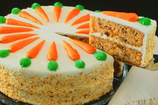 Low-Fat Sugar Free Carrot Cake