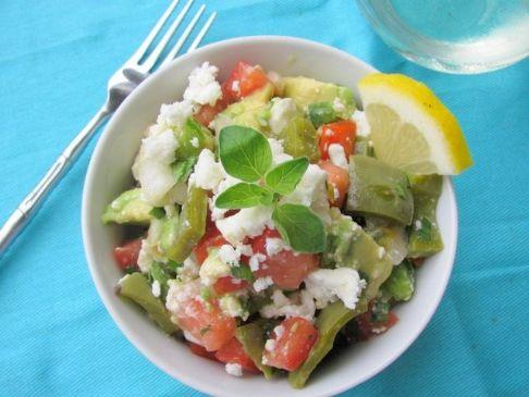 CACTUS SALAD (Nopales salad)