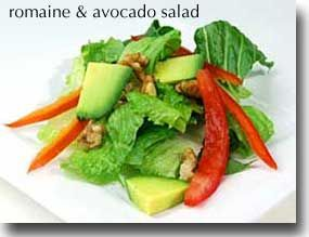 Romaine & Avocado Salad