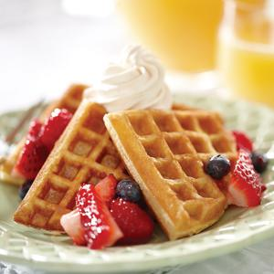 Sweet and Easy Waffles
