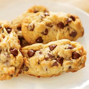 Heavenly Chocolate Chip Almond Treats