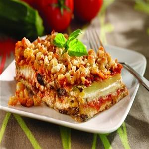 Fresh-From-the-Garden Eggplant and Zucchini Lasagna
