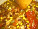Black Bean & White Hominy Chili
