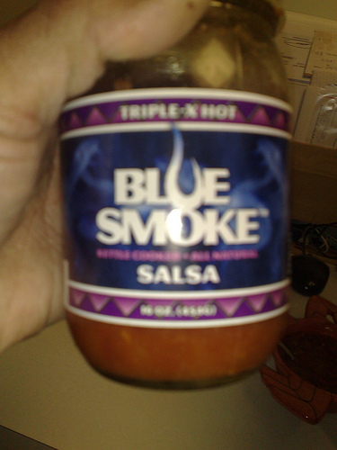 Smoking hot salsa