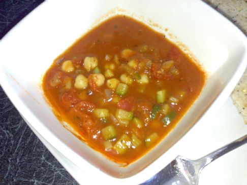 Minestrone Soup with Cannellini Beans (111 CPS)