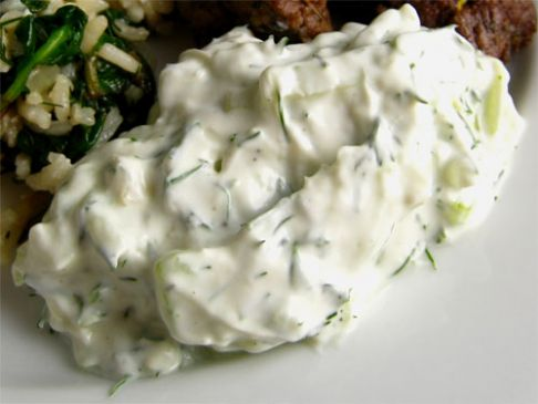 Alton Brown's Tzatziki Sauce
