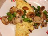 Asparagus & Mushroom Omelette