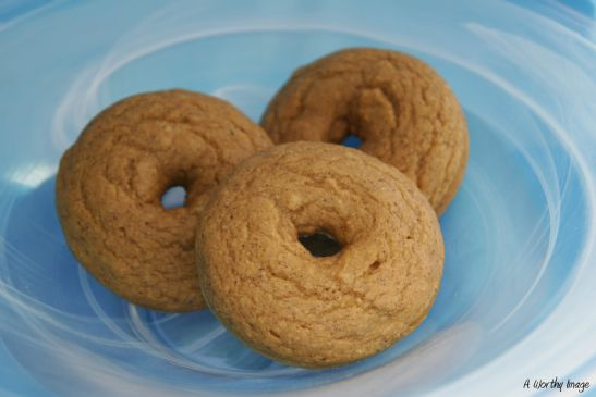 Pumpkin Doughnuts (Low Fat, Vegan)