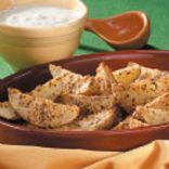 Roasted Parmesan Potato Wedges