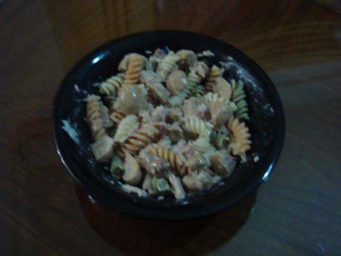 Tuna & pasta salad