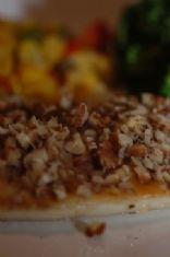 Mel's pecan encrusted tilapia