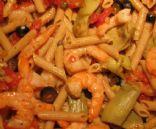 Mel's Shrimp with Penne Pasta