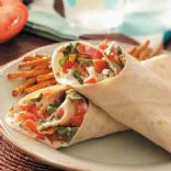 Garden Vegetable Wraps