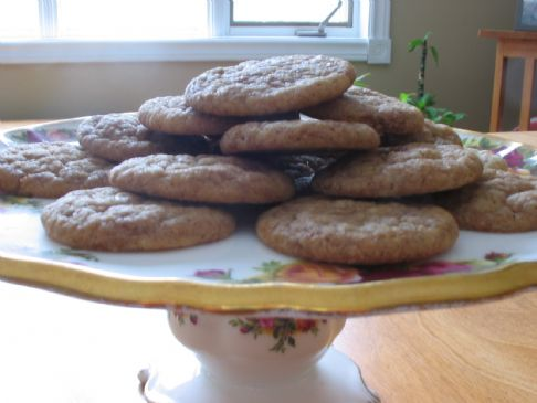 Banana Cinnamon Cookies