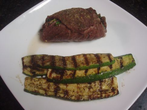 Greek Grilled Zucchini