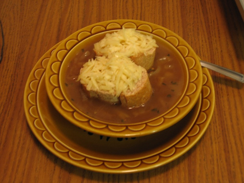French Onion Soup My Way