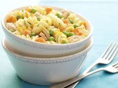 Cheesy Parmesan Pasta and Peas