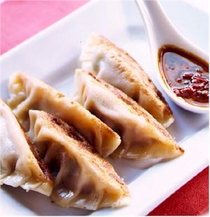 Pot Stickers (steamed wontons)