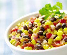 Bean, Corn, Avocado Salad