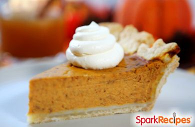 The Perfect LOW FAT Pumpkin Pie