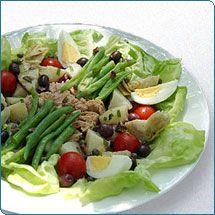 salad nicoise - 449 cal