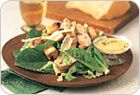 Grilled Turkey Caesar Salad