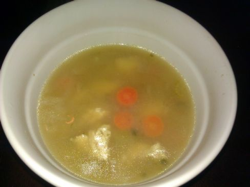 Homemade Chicken -n- Brown Rice Soup