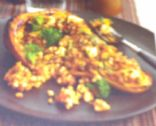 Spicy Buckwheat-Stuffed Butternut Squash