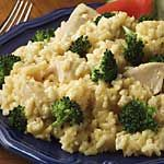 Velveeta cheesy chicken & Broccoli Rice