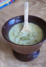 Creamy Asparagus Gorgonzola Soup